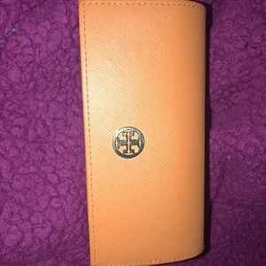 Authentic Tory Burch glasses case